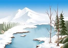 mountain n tree